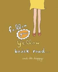 wonderful words follow your yellow brick road atlanta georgia