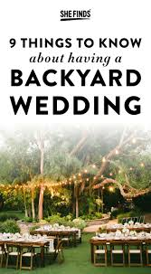 Backyard Bbq Wedding Ideas by The 25 Best Small Backyard Weddings Ideas On Pinterest Small