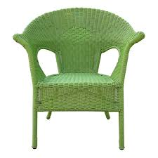 Colorful Wicker Patio Furniture Green Outdoor Wicker Chair At Home At Home