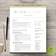 Modern Resume Example by Modern Resume Template Cv Template Cover Letter By A1resume