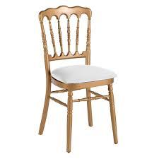 chaise dorée chaise napoleon doree abc location