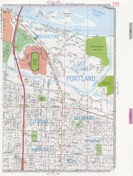 Map Of Oregon State by Portland City Road Map