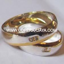 cincin cople 1302601213 188136277 1 cincin perak lapis emas cantik nan
