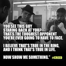 How To Make A Meme With Two Pictures - very inspiring movie so i decided to make a creed meme or two