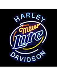 harley davidson lighted signs neon signs amazon com lighting ceiling fans novelty lighting
