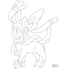 sylveon coloring page free printable coloring pages