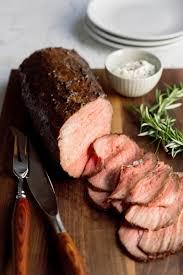 Balsamic Roast Beef In Oven Prune Peppercorn And Fresh Herb Rubbed Roast Beef Milk Street