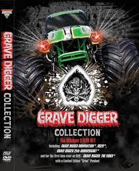 grave digger monster truck poster digger collection 2 disc dvd set
