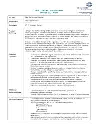 Sample Resume Key Qualifications by Data Warehouse Sample Resume Resume For Your Job Application