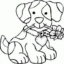 dog coloring pages girls coloring