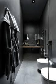 Gray And Black Bathroom Ideas by Dark Bathroom Maurizio Pecoraro Dordoni Architetti Interior