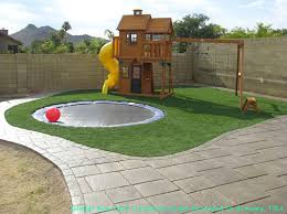 Arizona Backyard Landscaping by Best 25 Fake Turf Ideas On Pinterest Playground Ideas Play