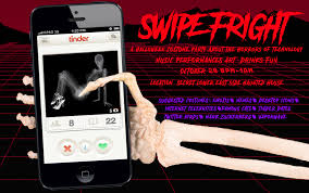 swipe fright a halloween party about the horrors of technology