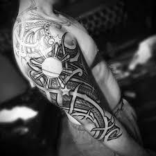 70 filipino tribal tattoo designs for men sacred ink ideas