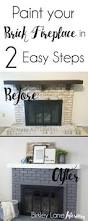 creative how to update an old fireplace room design decor