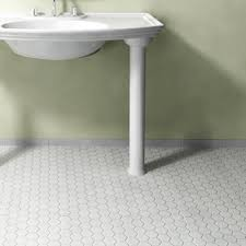 somertile 10 25x11 75 in hex 1 in white porcelain mosaic