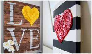 Diy Cozy Home by 50 Fun And Creative Diy Valentine U0027s Decorations That Anybody Can
