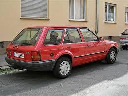 1987 Ford Escort Wagon Ford Escort 1 6i Mk4 Turnier The Mk4 Was Produced From 198 U2026 Flickr