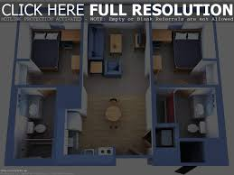 3 bedroom apartmenthouse plans simple 3d house design software