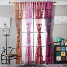 2017 Window Treatments Compare Prices On Colorful Window Curtains Online Shopping Buy