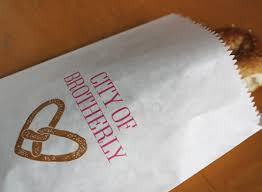 pretzel bags for favors philadelphia soft pretzel bags by bird banner 10 for a set of