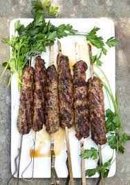 cuisine kebab grilled kofta kebabs panning the globe