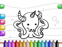 app shopper my tapps coloring book characters and scenarios