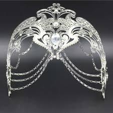 silver masks aliexpress buy phantom filigree white black silver gold
