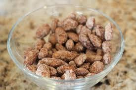 cinnamon roasted almonds printable nut cups so festive
