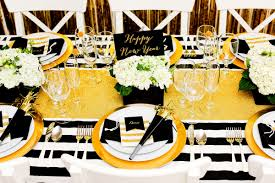 New Year S Eve Dinner Decoration by Gold And Black New Year U0027s Eve Party Evite