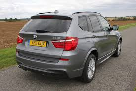 bmw x3 review parkers