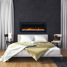 a peek into electric fireplace glass ember beds