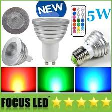 best 5w rgb led bulbs mr16 dimmable led spots remote controll