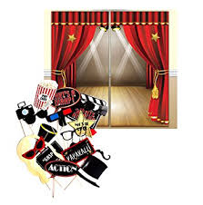 themed photo booth themed decoration backdrop and photo