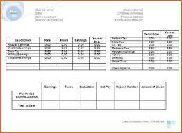microsoft office pay stub template download a free pay stub