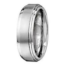 mens wedding bands cobalt mens cobalt wedding band ring 8mm white by giftflavors