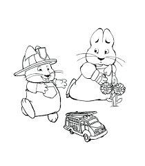 max and ruby coloring pages games reindeer sheets baby easter