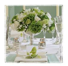 Green Table L 28 Green And White Table Settings Destination Weddings Mexico