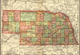 Nebraska On A Map Maps Atlases