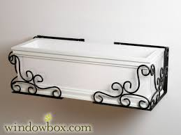 Metal Window Boxes For Plants - flower box holders u0026 window box holders from windowbox com