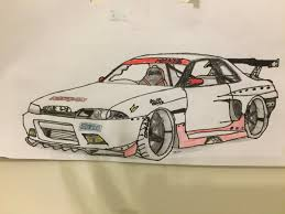 nissan silvia drawing search results for drift draw to drive