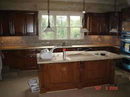Brown Gray Metal Slate Backsplash by Kitchen Backsplashes Slate Backsplash Falling Water Kitchen