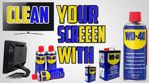 Hints On How To Clean How To Clean Your Lcd Tv Screen Led Or Plasma With Wd 40 Youtube