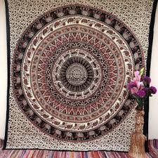 Wall Rugs Hanging Hippie Boho Wall Tapestries Psychedelic From Thenanodesign