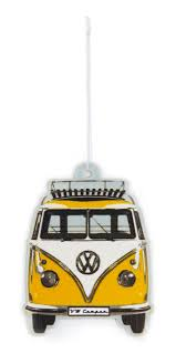 volkswagen bus front vw t1 bus air freshener lemon yellow buaf04