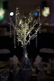 Manzanita Branches Centerpieces Fs Set Of 12 Pre Lit Silver 36