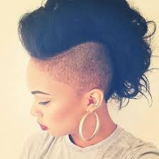 hair styles with both of sides shaved mohawk hairstyles for black women both short and long hair