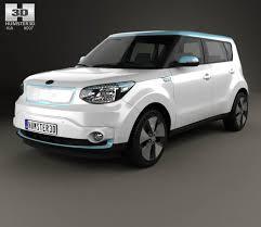 opel iran kia soul ev 2016 3d model hum3d