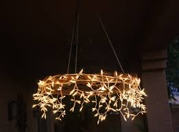 Christmas Rope Light Chandelier by 15 Diy Living Room Chandeliers Ultimate Home Ideas