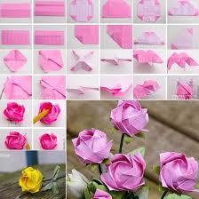 membuat hiasan bunga dari kertas lipat 9 ide cara membuat bunga dari kertas dengan mudah